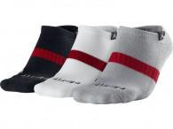 Ponožky Jordan drifit 3 pack noshow