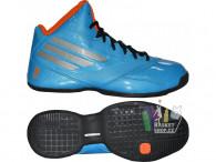 Dětské basketbalové boty adidas 3 series 2014 NBA k