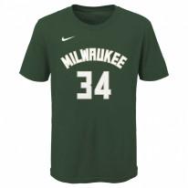 Dětské triko Nike Milwaukee Bucks - Antetokounmpo
