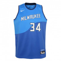 Dětský basketbalový dres Nike Milwaukee Bucks City Edition