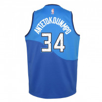 Dětský basketbalový dres Nike Milwaukee Bucks City Edition