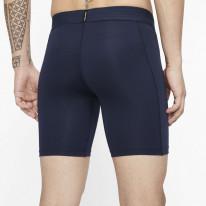 Kompresní šortky Nike NP long, tmavě modré