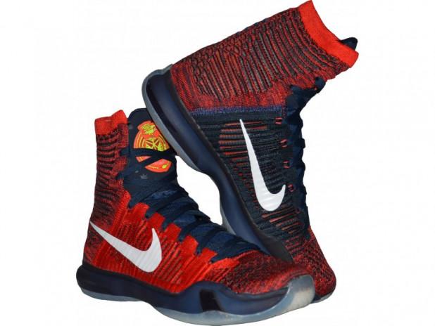 Basketbalové boty Nike Kobe X elite American  83e8679c267