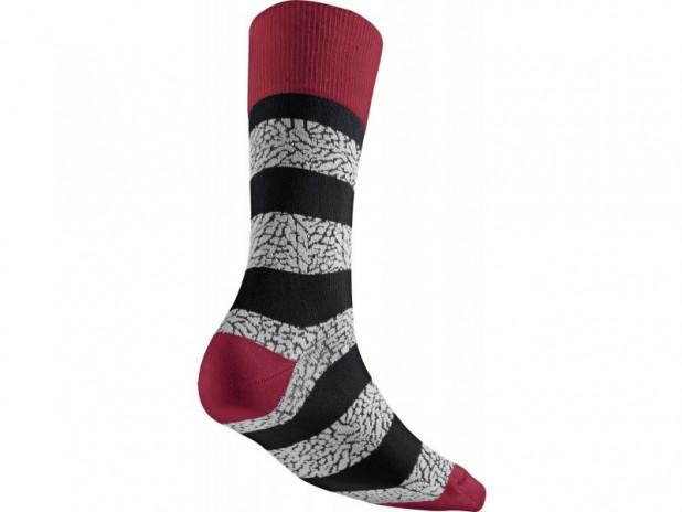 Ponožky Jordan Elephant Striped Crew