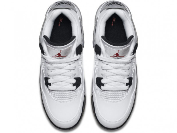 Dětské boty Air Jordan 4 retro OG White Cement gs