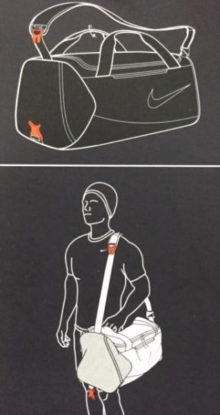 Basketbalová taška Nike Alpha