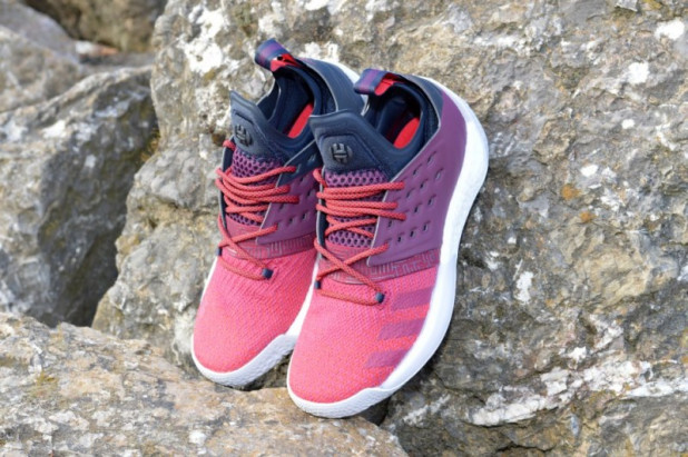 Basketbalové boty adidas Harden Vol. 2 MAROON