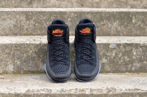 Basketbalové boty Air Jordan XXXII Black Cat