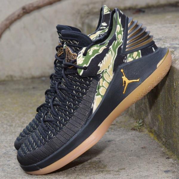 check out d68ef 1043c Basketbalové boty Air Jordan XXXII low CAMO