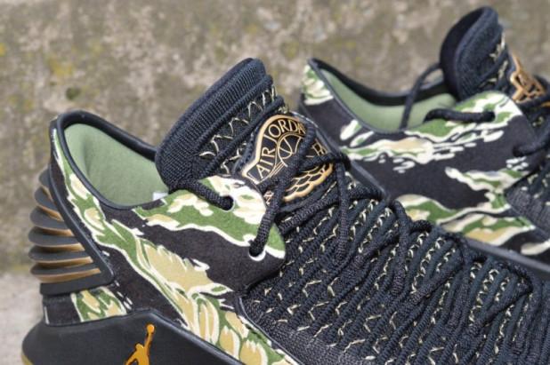 Basketbalové boty Air Jordan XXXII low CAMO