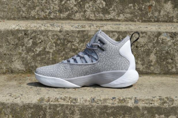 Basketbalové boty Jordan Super.FLY MVP L Cement