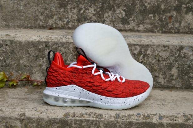 Basketbalové boty Nike Lebron XV low  7975ba7c78