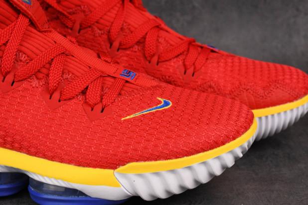 Basketbalové boty Nike Lebron XVI low