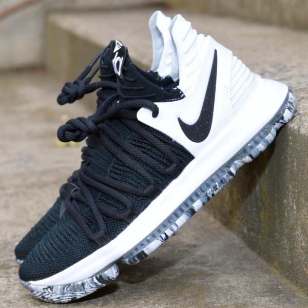 d130cbc4e64b9 Basketbalové boty Nike Zoom KD 10 Black White   BASKET SHOP ...