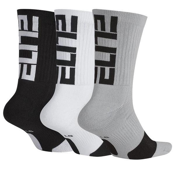 Basketbalové ponožky Nike Elite Everyday Crew (3 pack)