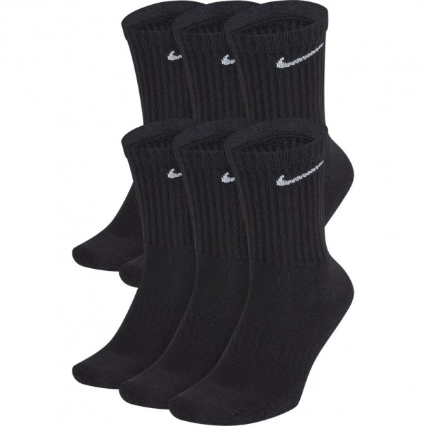 Basketbalové ponožky Nike Everyday Cushioned (6 párů)