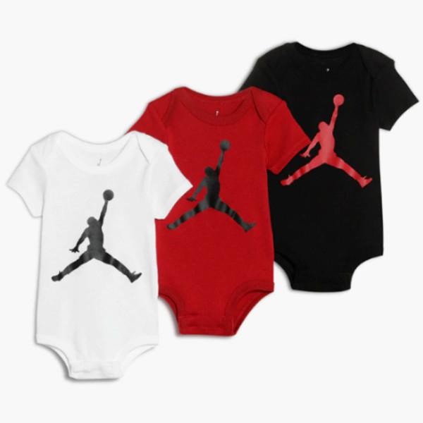 Body Jordan Jumpman Bodysuit (3 pack)