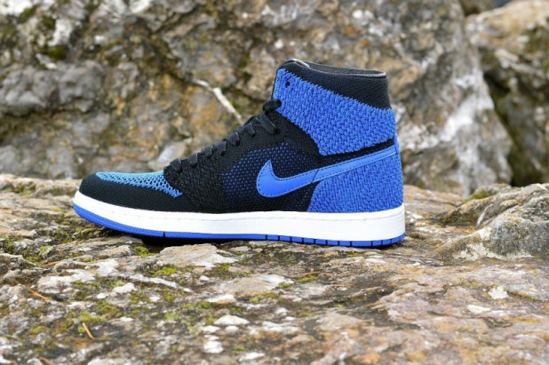 Boty Air Jordan 1 Retro High Flyknit Royal  be305c6a268