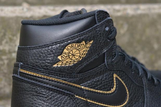 Boty Air Jordan 1 Retro high OG Black Gold