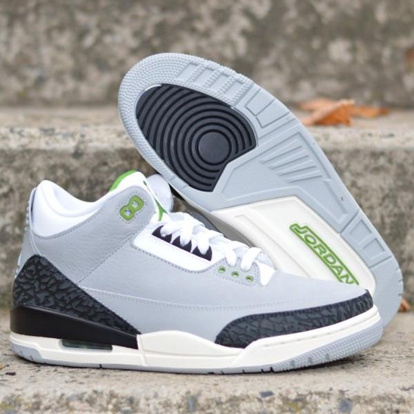 Boty Air Jordan 3 Retro Chlorophyll