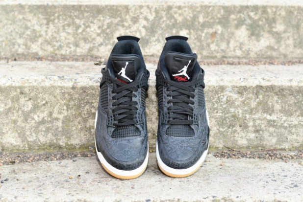 Boty Air Jordan 4 retro Black Laser