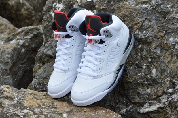 82124b2af7d Boty Air Jordan 5 Retro White Cement