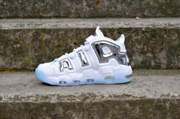 Dámské boty Nike Air More Uptempo Chrome