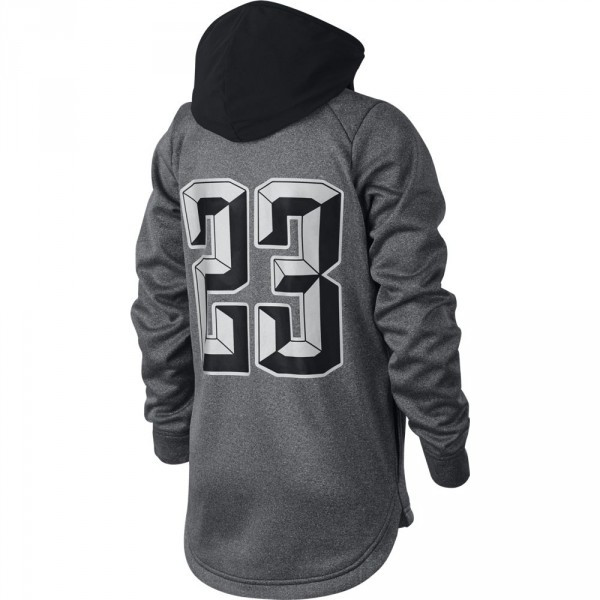 Dětská mikina Nike LBJ B NK THRMA hoodie po