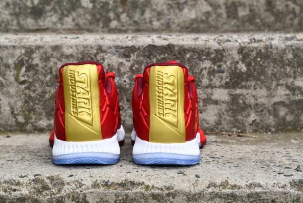 Dětské basketbalové boty adidas Harden Vol. 3 IRON MAN