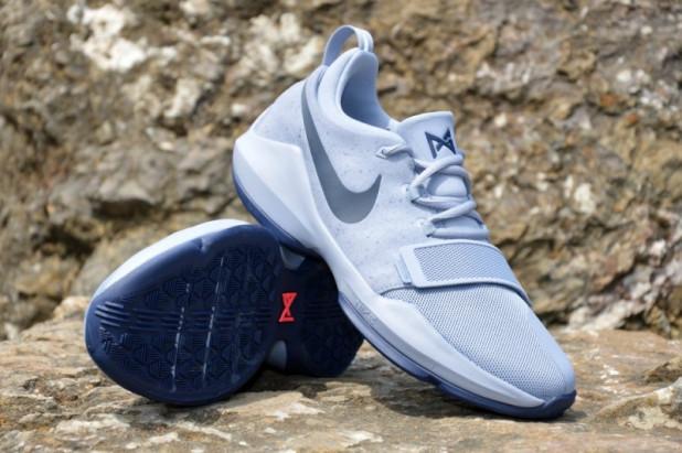 Dětské basketbalové boty Nike PG 1 Glacier Grey