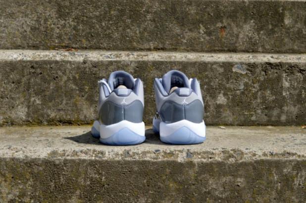 Dětské boty Air Jordan 11 Retro Low Cool Grey